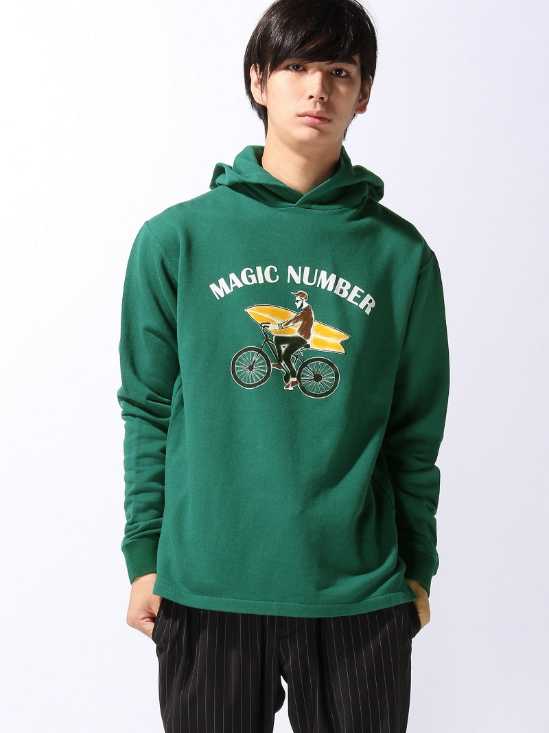 MAGIC NUMBER CYCLE BOY HOODIE マジックナンバー カットソー【送料無料】