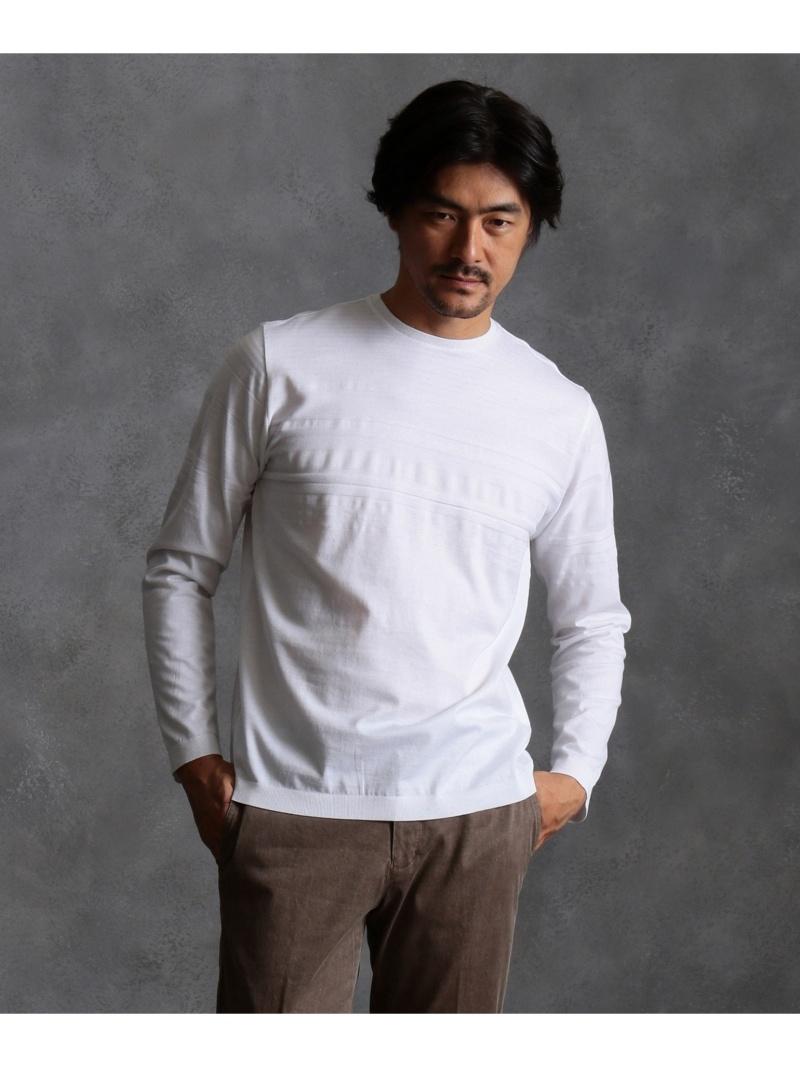 23区HOMME ハイゲージリブスタート Tシャツ ニジュウサンク オム カットソー【送料無料】