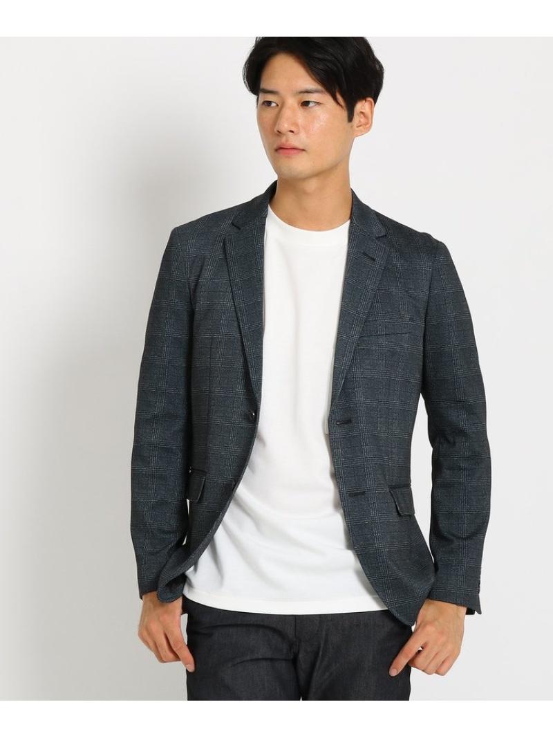 THE SHOP TK(Men) ポンチクラシックチェックプリントジャケット ザ ショップ ティーケー コート/ジャケット【送料無料】