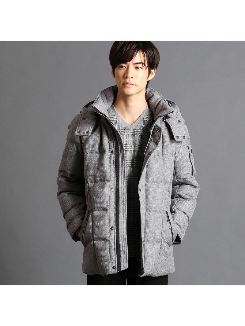 NICOLE CLUB FOR MEN バスケットドビーダウンジャケット ニコル コート/ジャケット【送料無料】