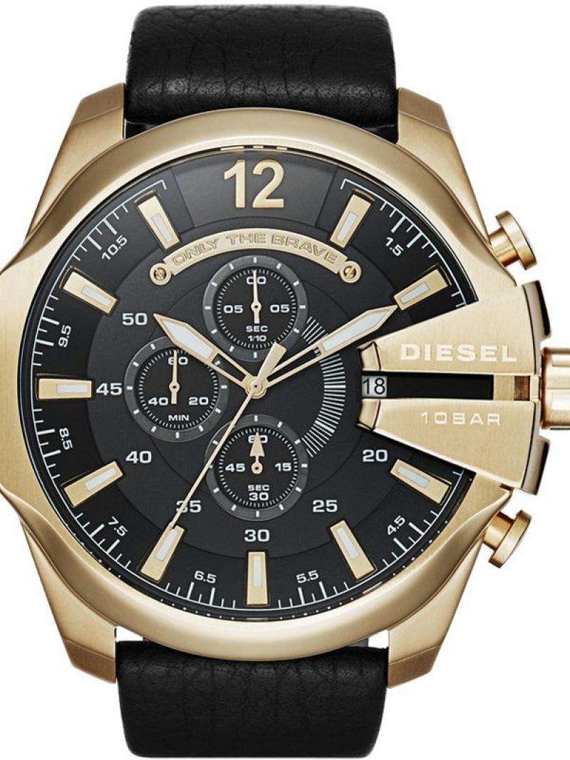 DIESEL DIESEL/(M)DZ4344 ウォッチステーションインターナショナル ファッショングッズ 腕時計 ブラック【送料無料】