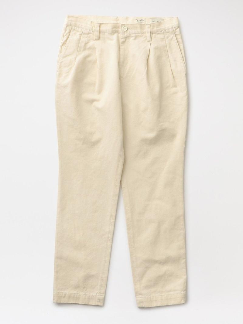 【SALE/40%OFF】LOVELESS 【FACTOTUM】MEN Original Chino 2tack Trousers 1040439 ラブレス パンツ/ジーンズ パンツその他 ホワイト【RBA_E】【送料無料】