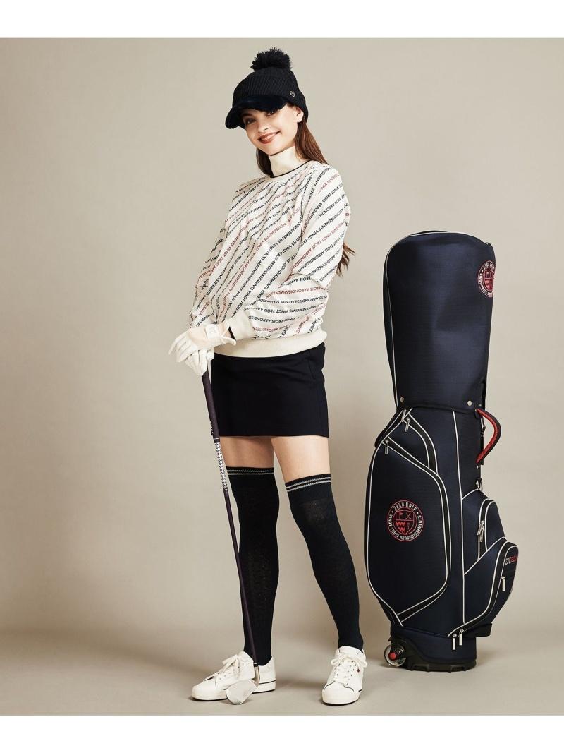 23区GOLF 【UNISEX】キャスター付きキャディーバッグ ニジュウサンクゴルフ スポーツ/水着 スポーツグッズ ネイビー レッド【送料無料】
