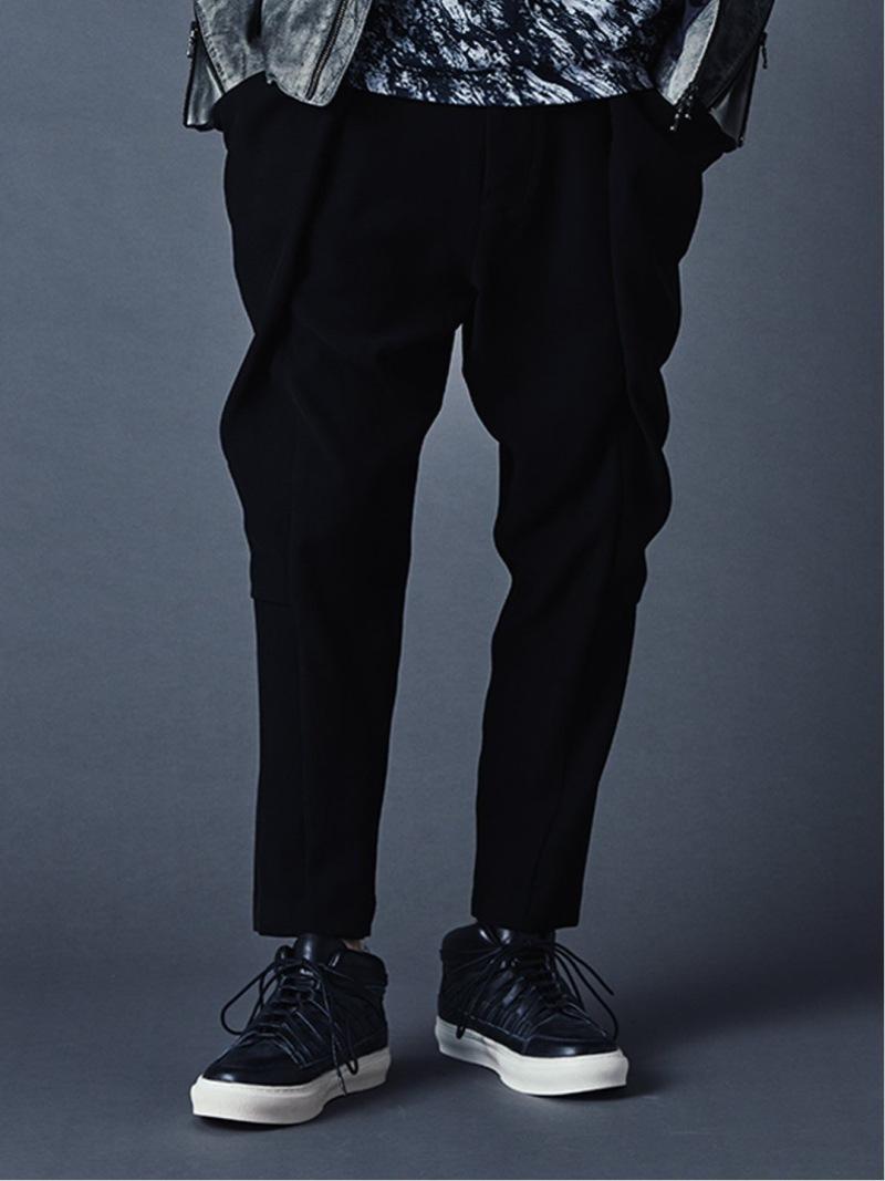 semanticdesign シェラック/SHELLACデザイントラウザー タカキュー パンツ/ジーンズ チノパンツ ブラック【送料無料】