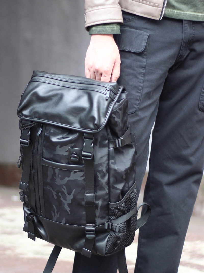RATTLE TRAP ヘッドキャップカバー式バックパック メンズ ビギ バッグ【送料無料】
