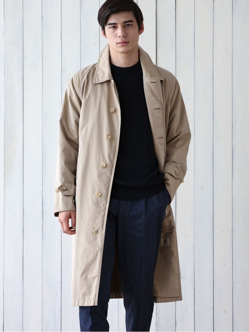 SANYO <100年コート>エイジドクラシックバルマカーンコート サンヨー コート/ジャケット【送料無料】