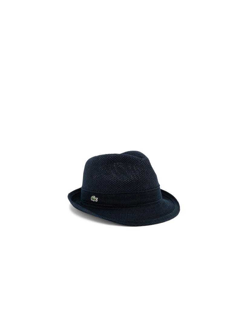 LACOSTE サーモマニッシュ ラコステ 帽子/ヘア小物 ハット ネイビー ブルー グレー【送料無料】