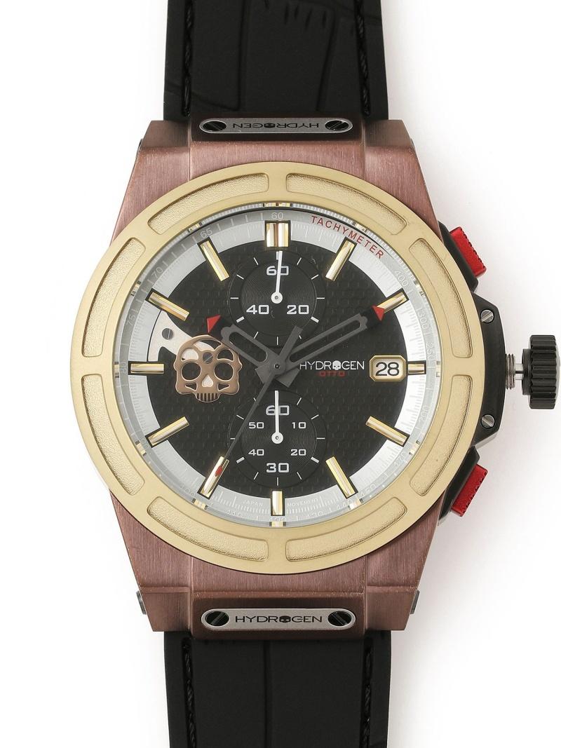 RAWLIFE HYDROGEN/ハイドロゲン/OTTOCHRONOSKULL/HW514410 ロウライフ ファッショングッズ 腕時計 ゴールド【送料無料】