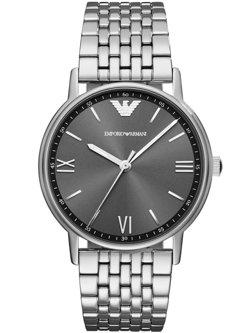 EMPORIO ARMANI EMPORIO ARMANI/(M)KAPPA AR11068 ウォッチステーションインターナショナル ファッショングッズ 腕時計 グレー【送料無料】
