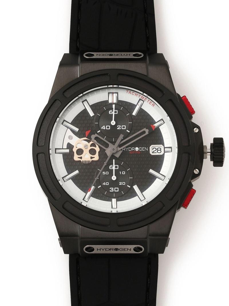 RAWLIFE HYDROGEN/ハイドロゲン/OTTOCHRONOSKULL/HW514415 ロウライフ ファッショングッズ 腕時計 ブラック【送料無料】