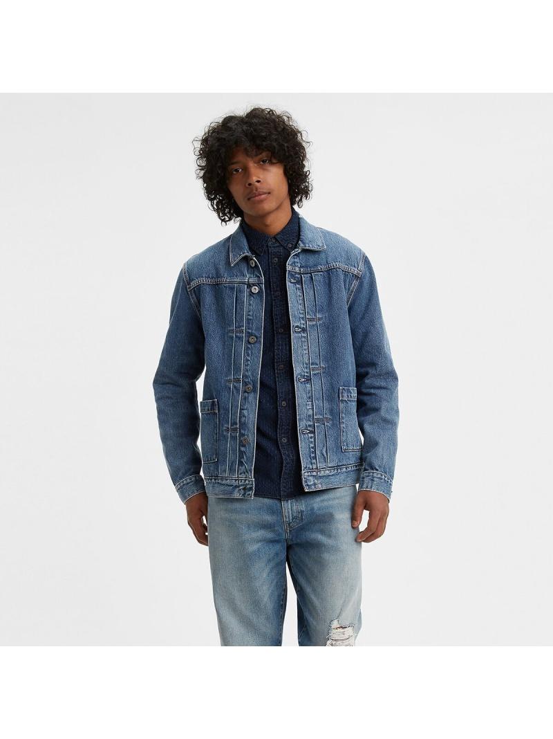 Levi's TYPEIIWORNトラッカージャケットYANGER リーバイス カットソー Tシャツ【送料無料】