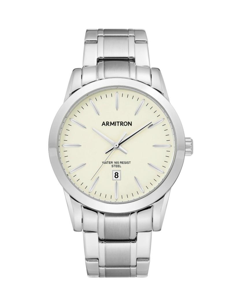 【SALE/10%OFF】ARMITRON NEW YORK ARMITRON NEWYORK/(M)腕時計 アナログ ドレスウォッチ オブライフ ファッショングッズ 腕時計 シルバー ゴールド【RBA_E】【送料無料】
