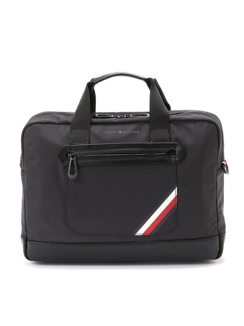 (M) トミーヒルフィガー【ナイロンバックパックコンピューターバッグ】ブリーフケース メンズ トミーヒルフィガー バッグ【送料無料】