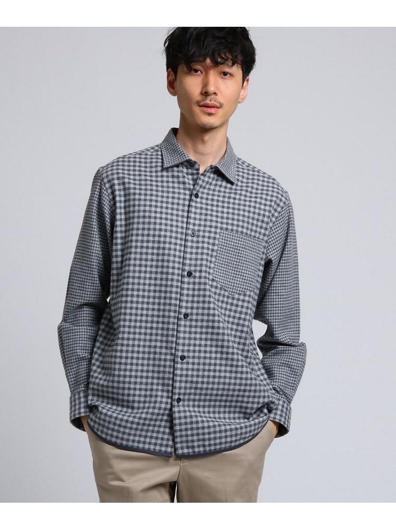 【SALE/30%OFF】TAKEO KIKUCHI パイピングネルシャツ[ メンズ シャツ ネル ] タケオキクチ シャツ/ブラウス【RBA_S】【RBA_E】【送料無料】