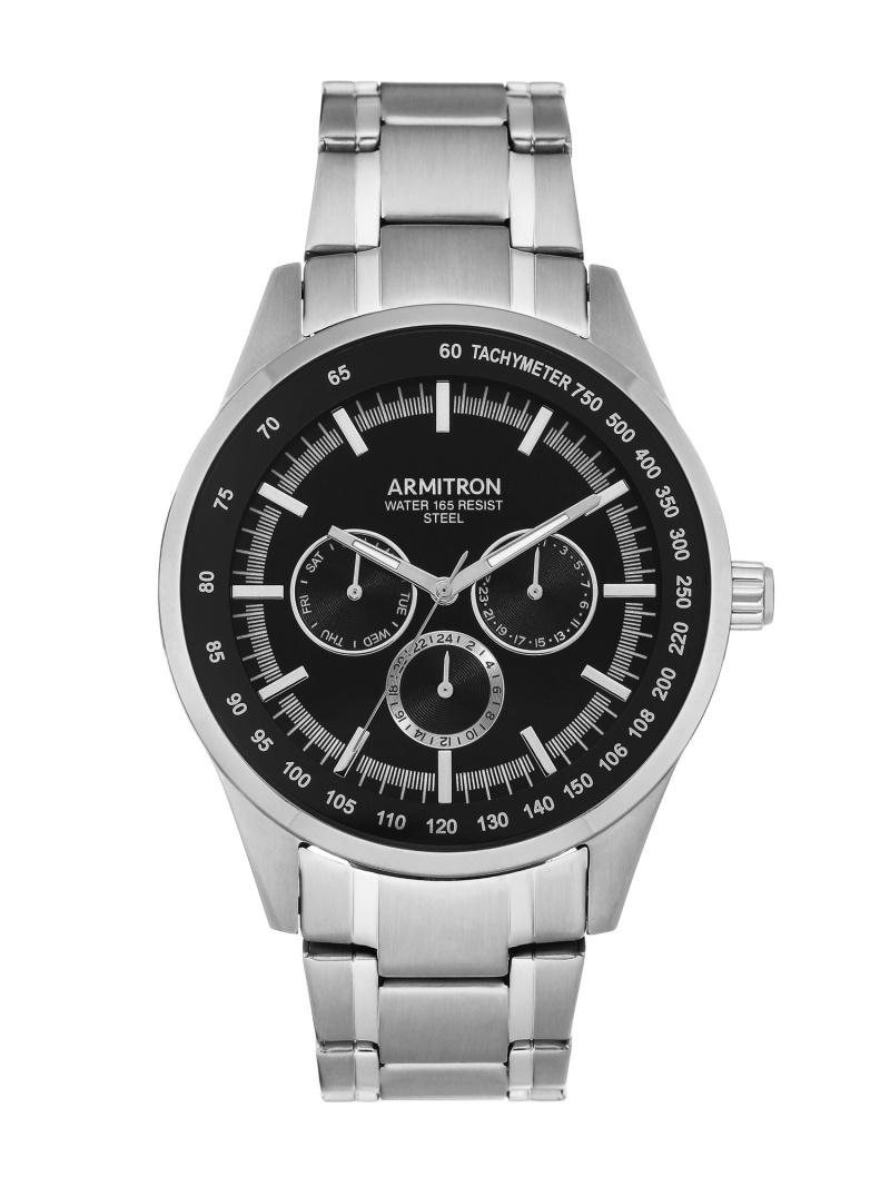 【SALE/10%OFF】ARMITRON NEW YORK ARMITRON NEWYORK/(M)腕時計 アナログ ドレスウォッチ オブライフ ファッショングッズ 腕時計 シルバー【RBA_E】【送料無料】