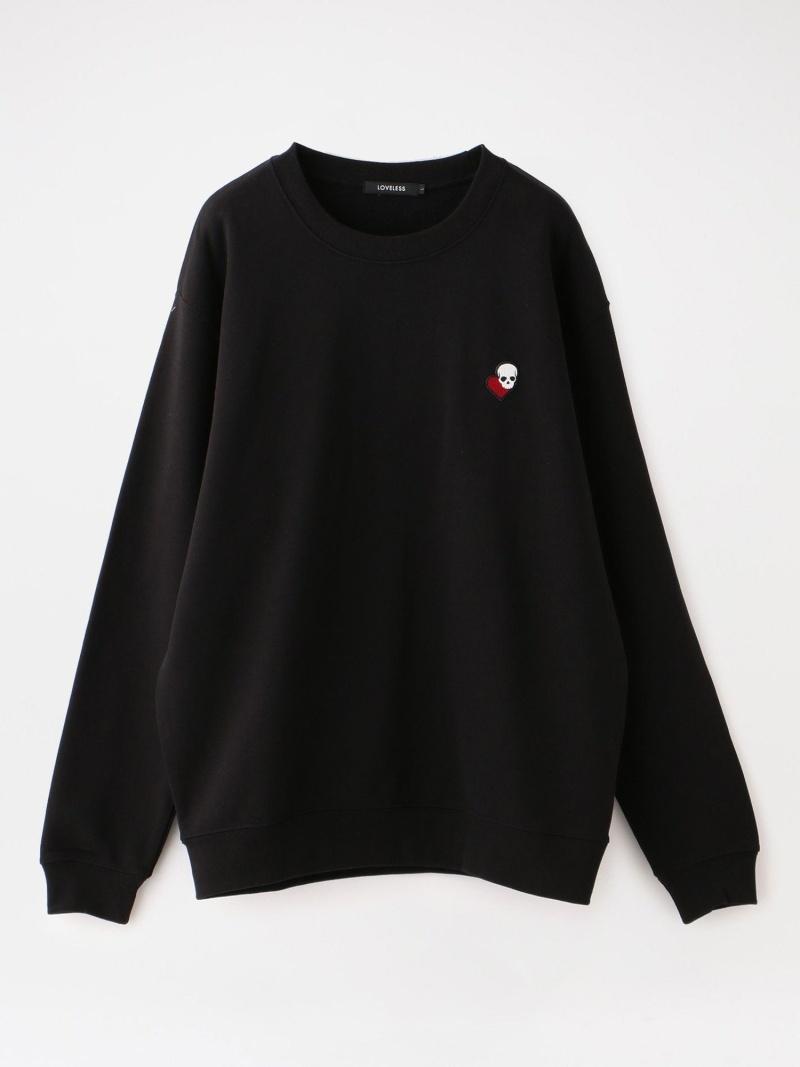 LOVELESS ラブスカルプルオーバー ラブレス カットソー Tシャツ ブラック ホワイト【送料無料】