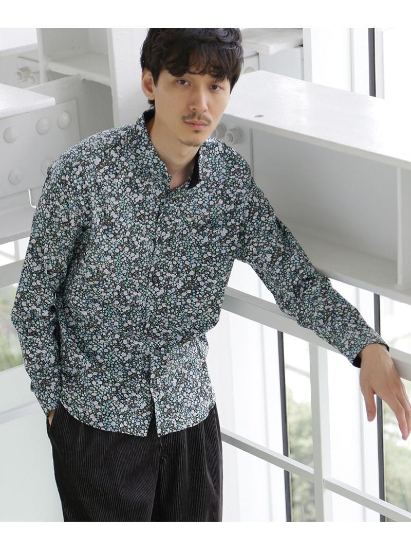 TAKEO KIKUCHI LIBERTY FABRICプリントシャツ [ メンズ トップス シャツ 柄 ボタンダウン ] タケオキクチ シャツ/ブラウス【送料無料】
