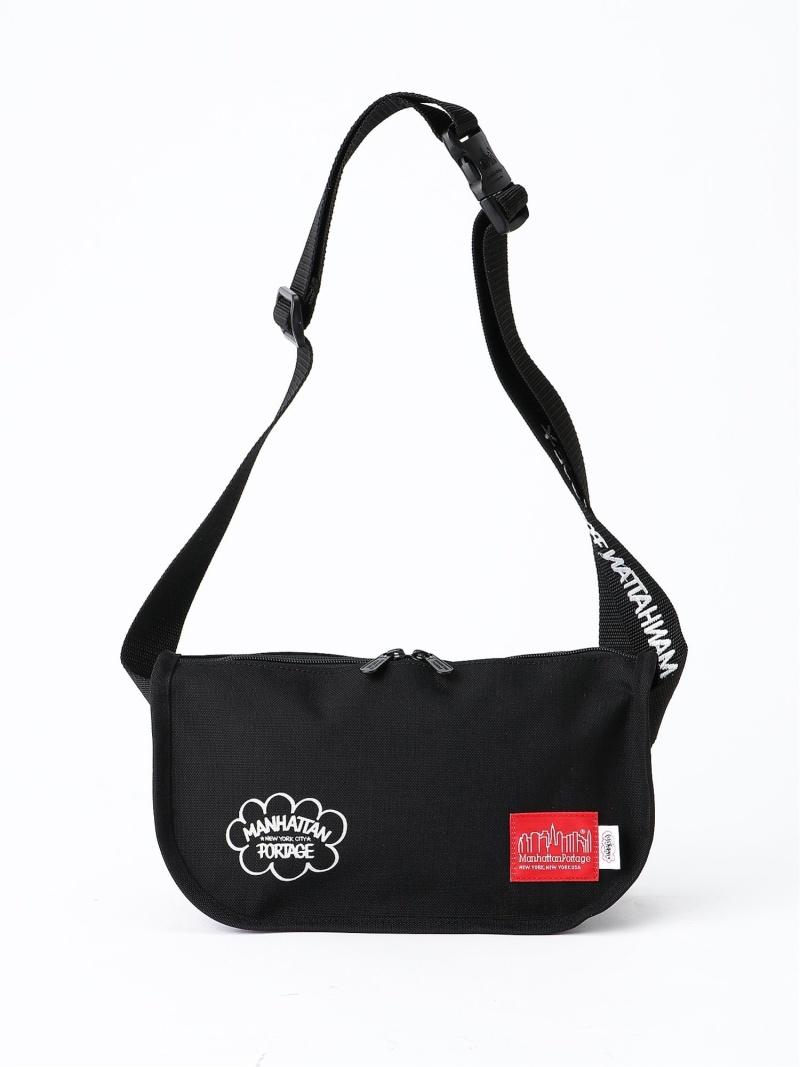 Manhattan Portage LEADOUT WAIST BAG ERIC HAZE マンハッタンポーテージ バッグ ショルダーバッグ ブラック【送料無料】