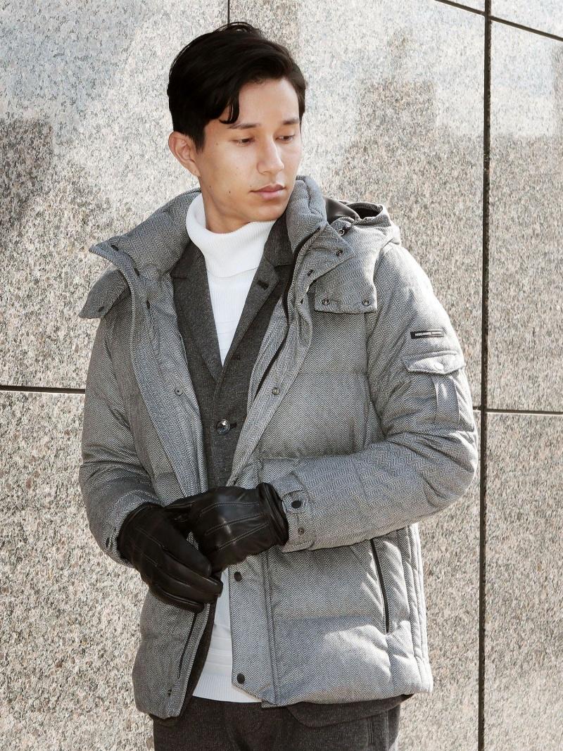 HIDEAWAYS NICOLE ミドル丈ダウンジャケット ニコル コート/ジャケット【送料無料】