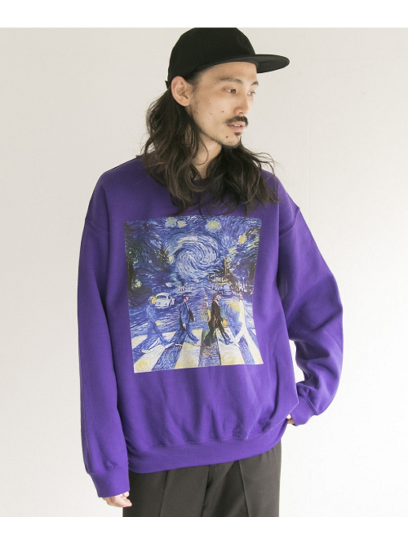 URBAN RESEARCH BOWWOW×URBAN RESEARCH 別注 ROAD CREW-NECK SWEAT アーバンリサーチ カットソー【送料無料】