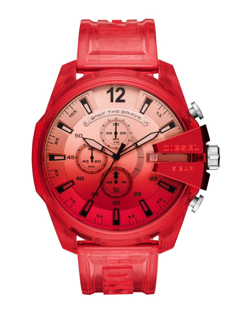 WATCH STATION INTERNATIONAL メンズ ファッショングッズ ウォッチステーションインターナショナル DIESEL シルバー 腕時計 送料無料 M MEGA 大人気 CHIEF_DZ4534 営業