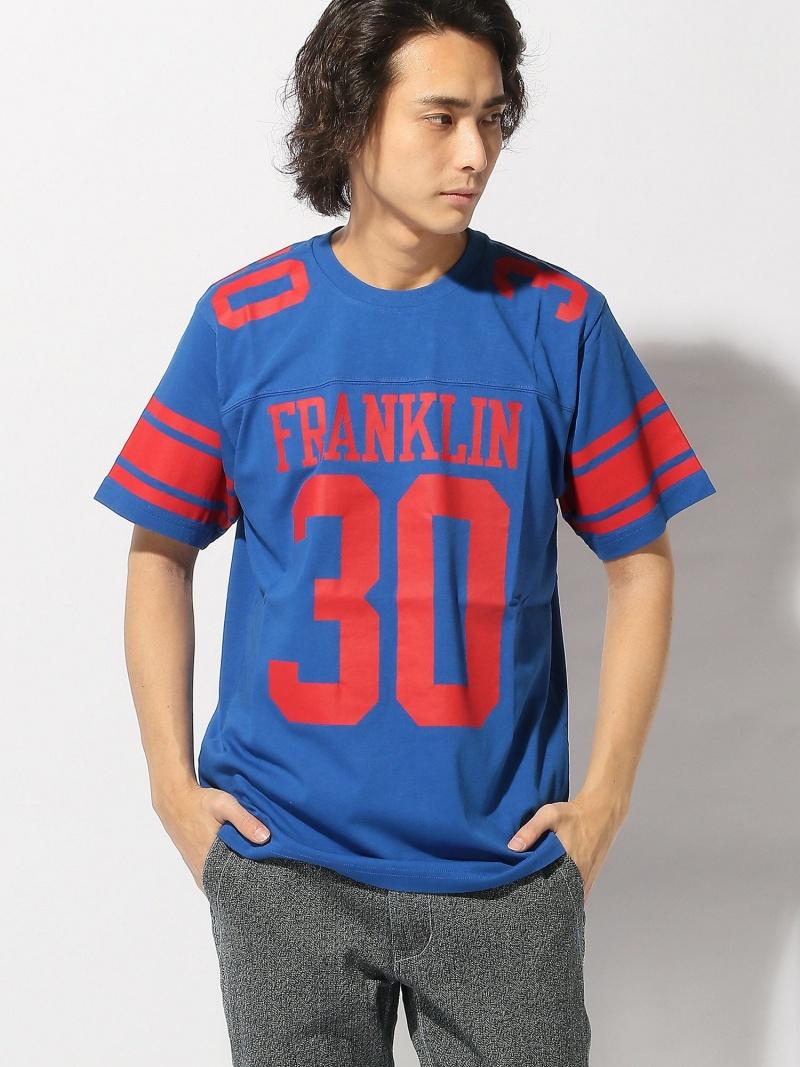 FRANKLIN&MARSHALL FRANKLIN&MARSHALL/(M)ナンバリングプリントTシャツ ヌーディージーンズ / フランクリンアンドマーシャル カットソー【送料無料】