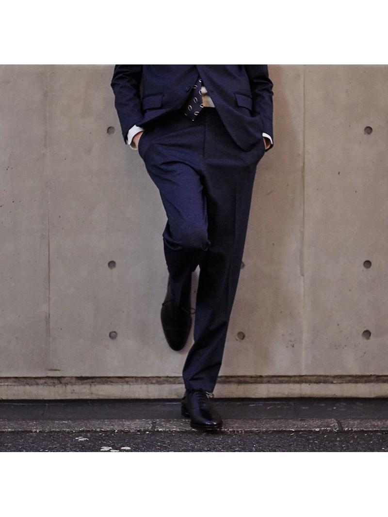 ABAHOUSE LASTWORD 【セットアップ対応】ジャージプリントパンツ アバハウス パンツ/ジーンズ フルレングス ネイビー ブラック【送料無料】