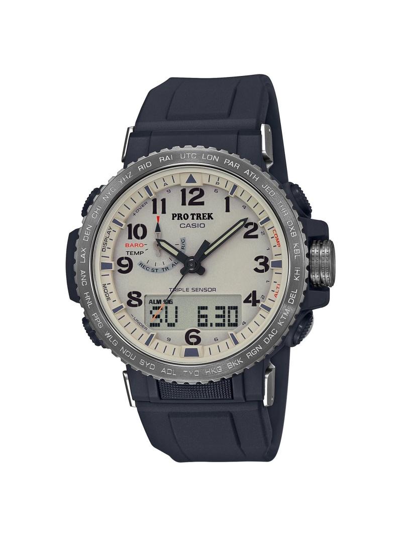 PRO TREK PRO TREK/(M)PRW-50Y-1BJF カシオ ファッショングッズ 腕時計 ブラック【送料無料】
