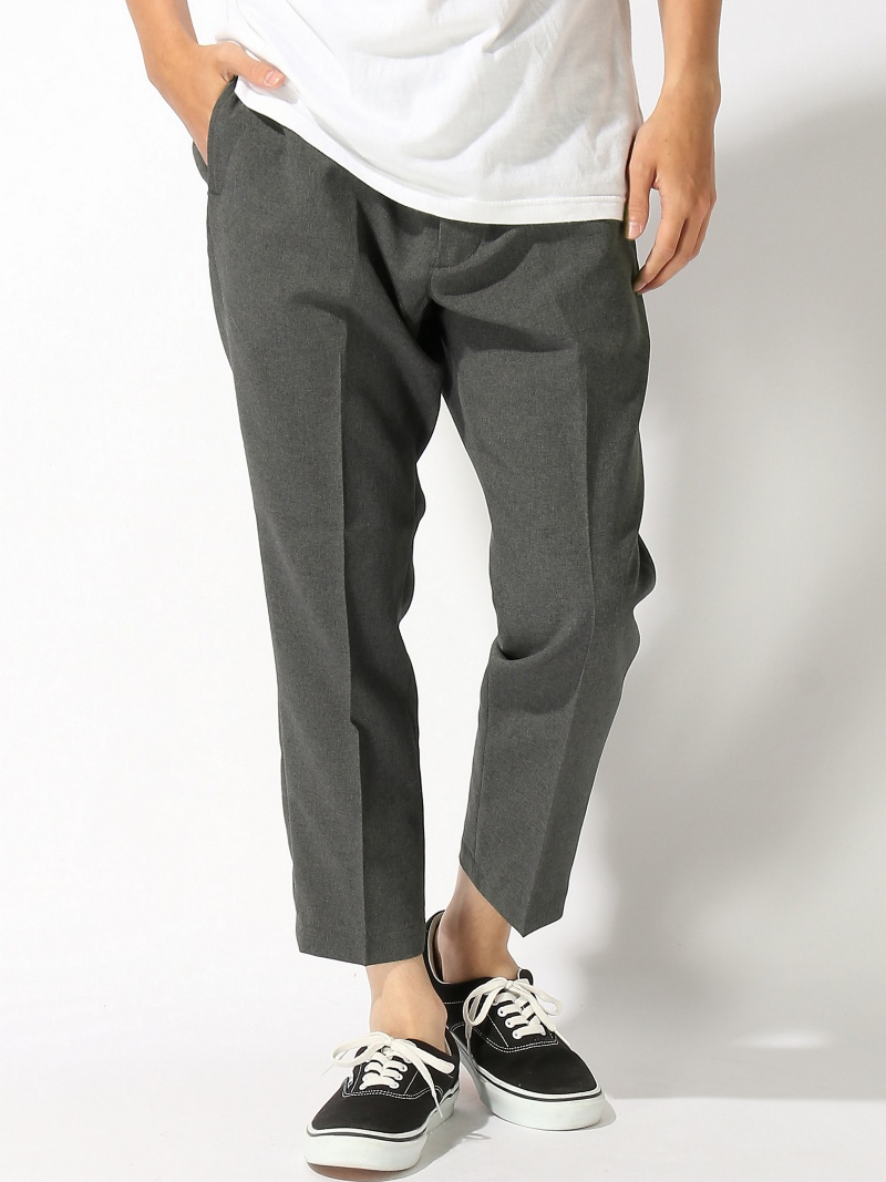THE COMMON TEMPO THE COMMON TEMPO/(M)CROPPED PANTS ザコモンテンポ パンツ/ジーンズ【送料無料】