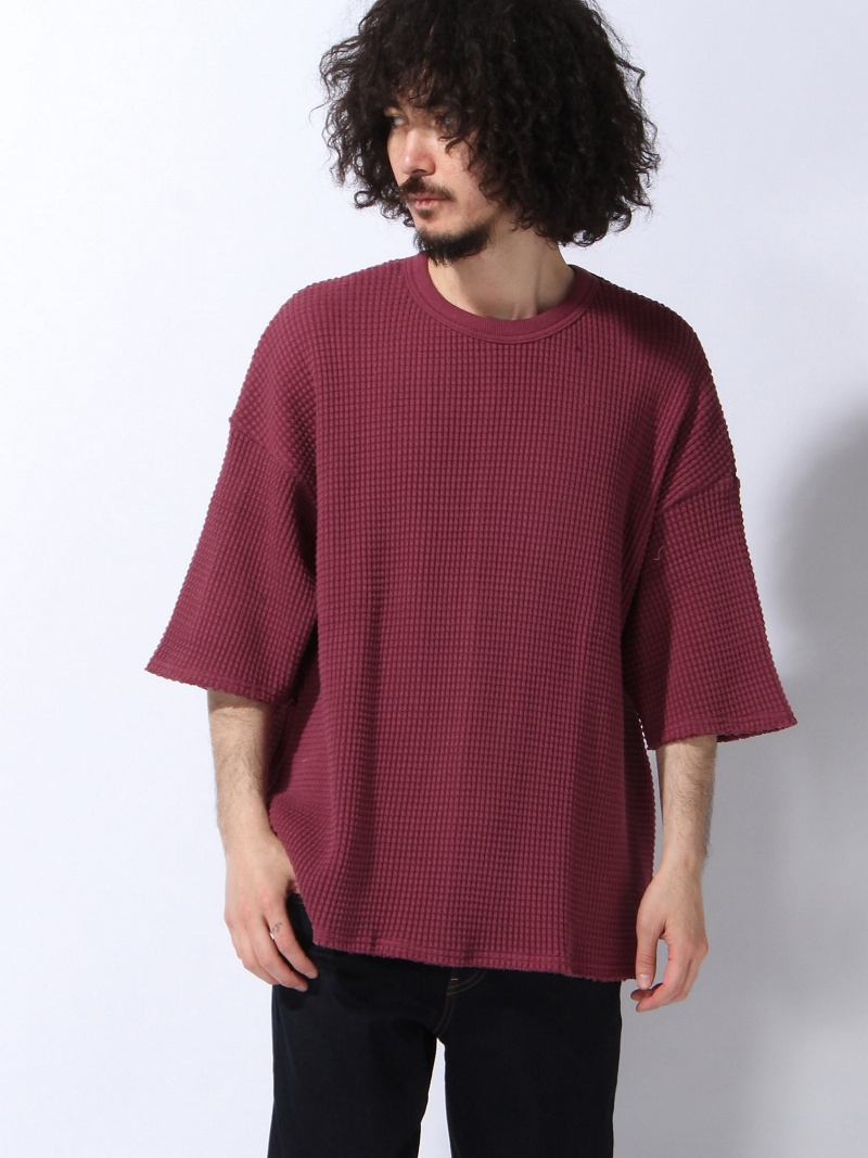 【SALE/20%OFF】VOTE MAKE NEW CLOTHES HEAVY THERMAL BIG TEE ヴォート メイク ニュー クローズ カットソー【RBA_S】【RBA_E】【送料無料】