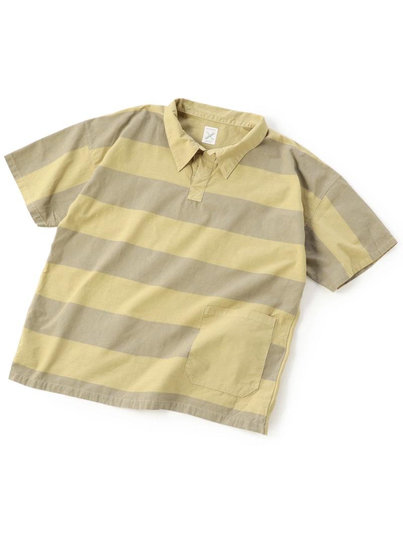 【SALE/20%OFF】ADITIONAL [リメイク商品]ラインシャツ/製品染め メンズ ビギ シャツ/ブラウス【RBA_S】【RBA_E】【送料無料】