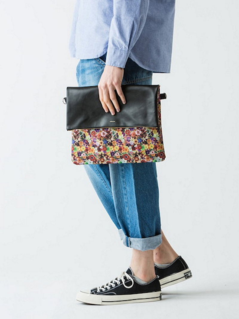 rehacer rehacer:Flower Clutch bag レアセル バッグ【送料無料】