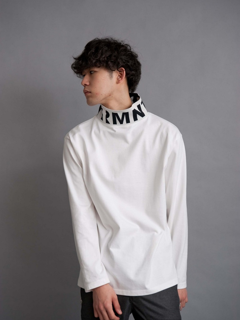 【SALE/10%OFF】DISCOVERED LOGO HI-NECK CUTSAW ディスカバード カットソー【RBA_S】【RBA_E】【送料無料】