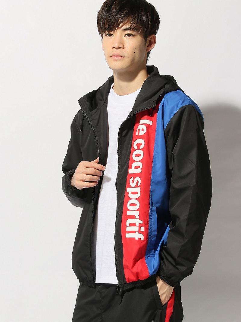 le coq sportif (M)HTPナイロンジャケット ルコックスポルティフアヴァン コート/ジャケット【送料無料】