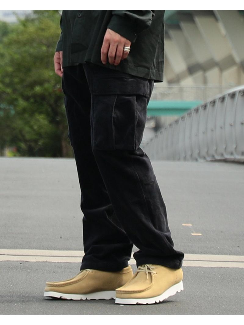 BEAMS MEN GRAMICCI × BEAMS / 別注 コーデュロイ 6ポケット カーゴパンツ ビームス メン パンツ/ジーンズ フルレングス ブラック シルバー ブラウン【先行予約】*【送料無料】