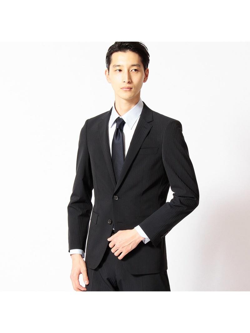 COMME CA MEN ポリエステルストレッチカラーストライプセットアップジャケット コムサメン ビジネス/フォーマル【送料無料】