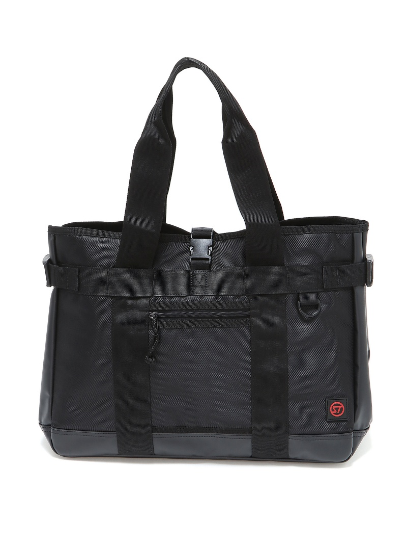 STREAM TRAIL ROBUSTER TOTE BLACK グローバルフォルムコンクリート バッグ【送料無料】