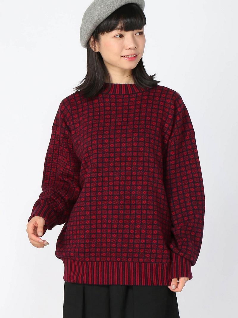 cleaveland (U)V-long sleeve pullover クリーブランド ニット【送料無料】