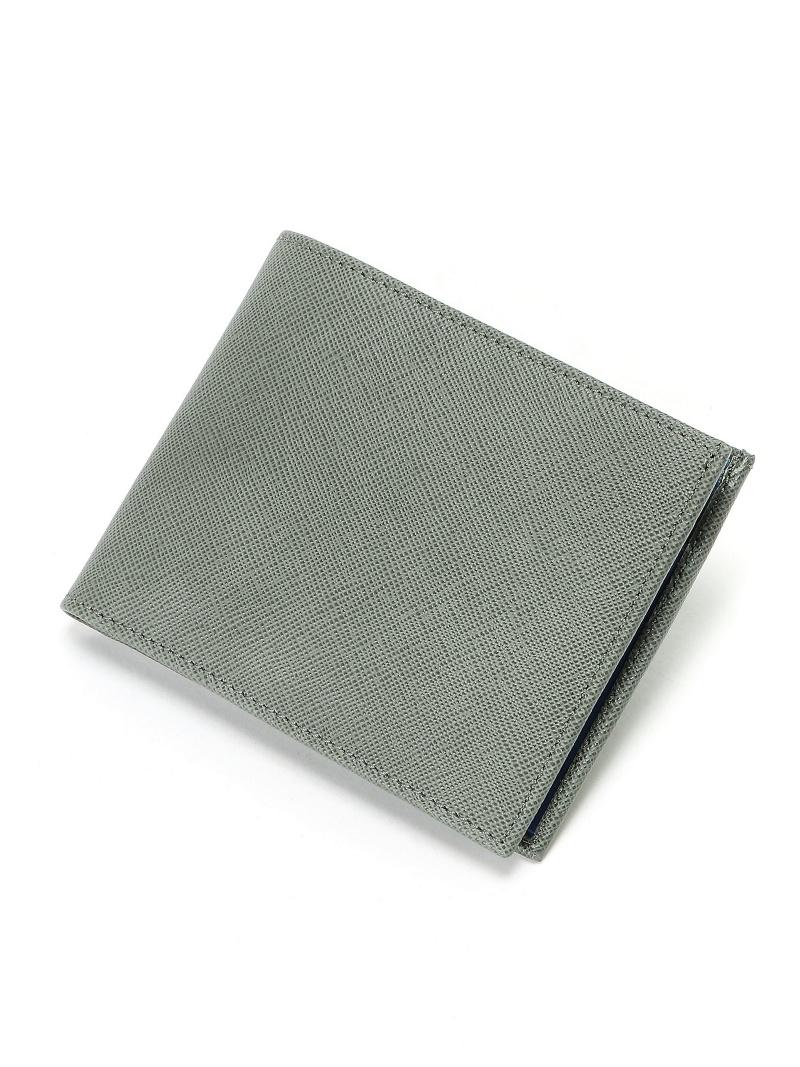 SILVANO BIAGINI SILVANO BIAGINI/(M)2つ折小銭付財布 ペレペンナ 財布/小物 財布 グレー【送料無料】
