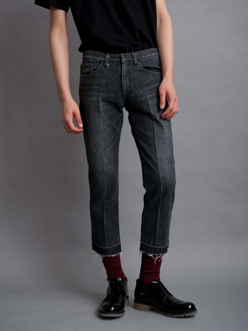 【SALE/10%OFF】DISCOVERED CENTER PLEAT DENIM PANTS ディスカバード パンツ/ジーンズ【RBA_S】【RBA_E】【送料無料】