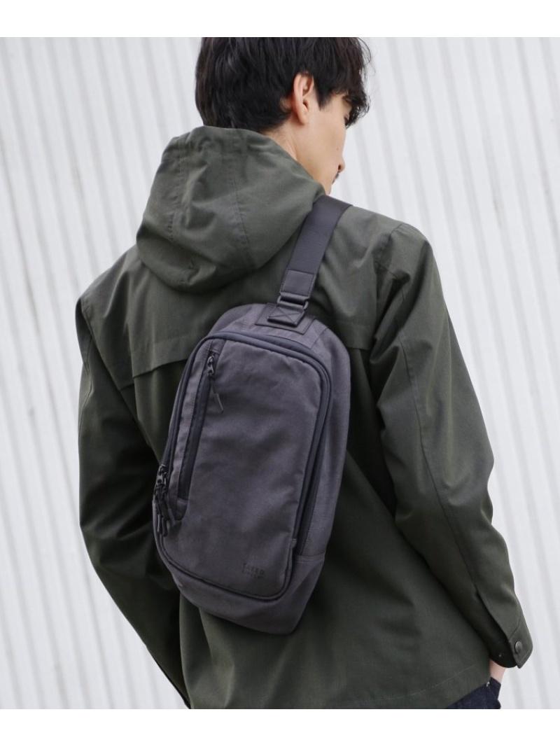 TAKEO KIKUCHI 【 WEB限定 】 ボディバッグ fabric by MINOTECH(R) [ メンズ バッグ ボディバッグ ポーチ 撥水 ] タケオキクチ バッグ【送料無料】