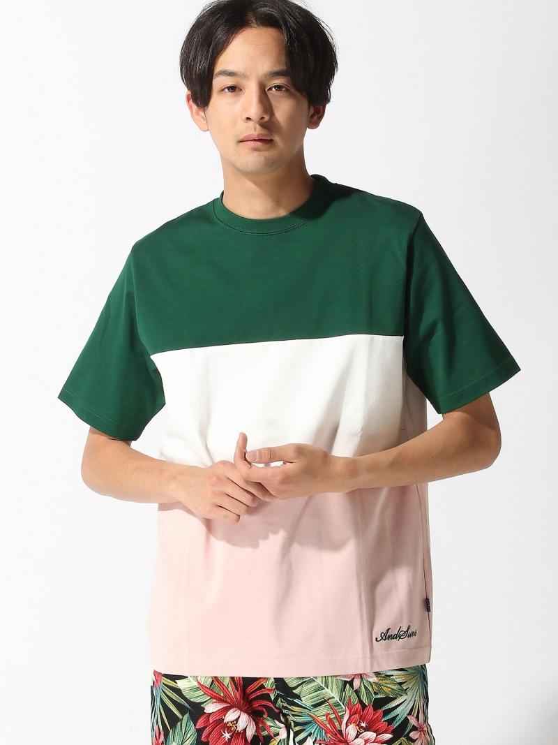 (M)PANELS SUNS TEE アンドサンズ カットソー【送料無料】