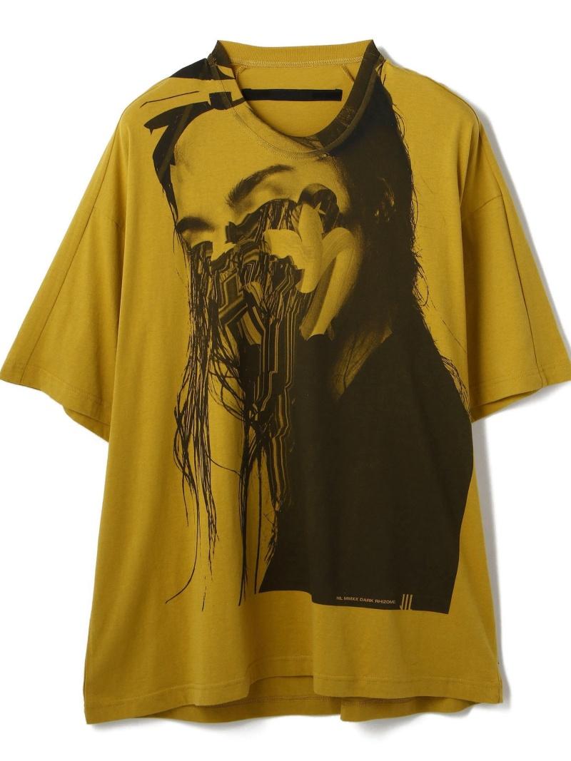 LHP NILoS/ニルズ/TVER4/CPM12 エルエイチピー カットソー Tシャツ イエロー ホワイト ブラック【送料無料】
