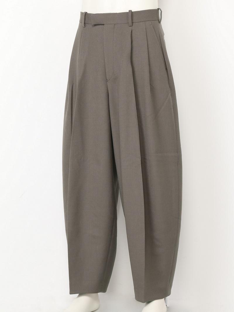 LITHIUM HOMME T/R DOUBLE CLOTH BALLON TROUSERS リチウム オム/ファム パンツ/ジーンズ【送料無料】
