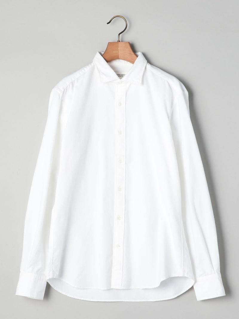 UNITED ARROWS ○UASB フラノ ワイドシャツ ユナイテッドアローズ シャツ/ブラウス【送料無料】