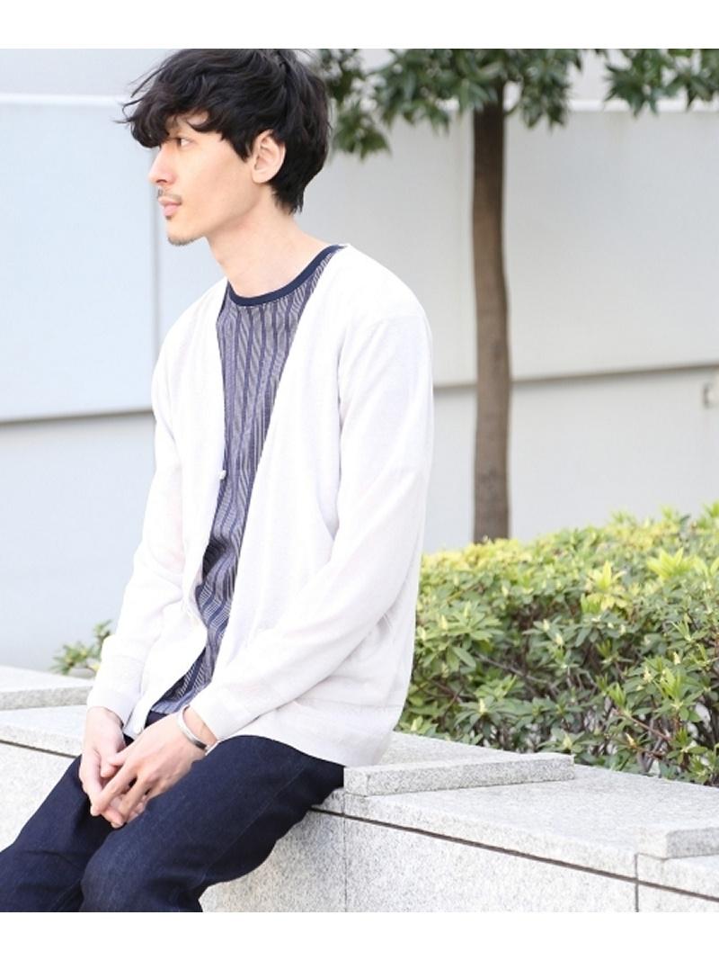 【SALE/50%OFF】TAKEO KIKUCHI C/Lカーディガン [ メンズ ニット カーディガン ] タケオキクチ ニット【RBA_S】【RBA_E】【送料無料】