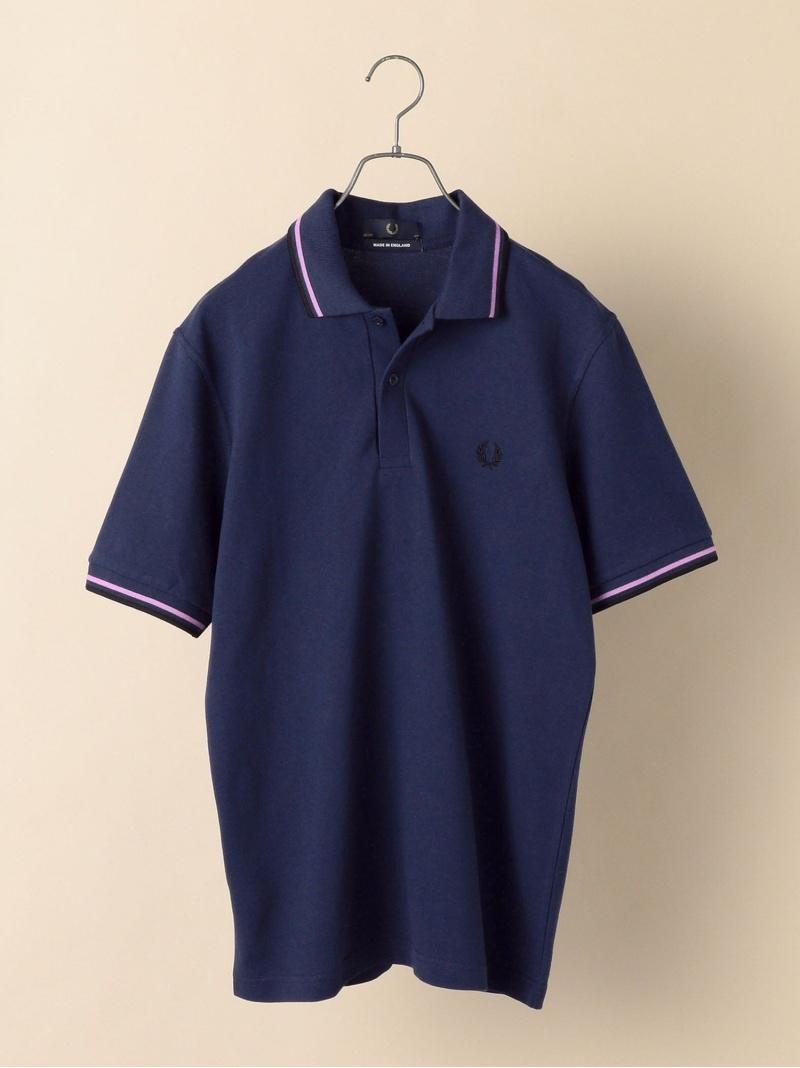 SHIPS FREDPERRY:【M12】ENGLANDポロシャツ シップス カットソー ポロシャツ ブルー グレー ブラック レッド イエロー グリーン ネイビー【送料無料】