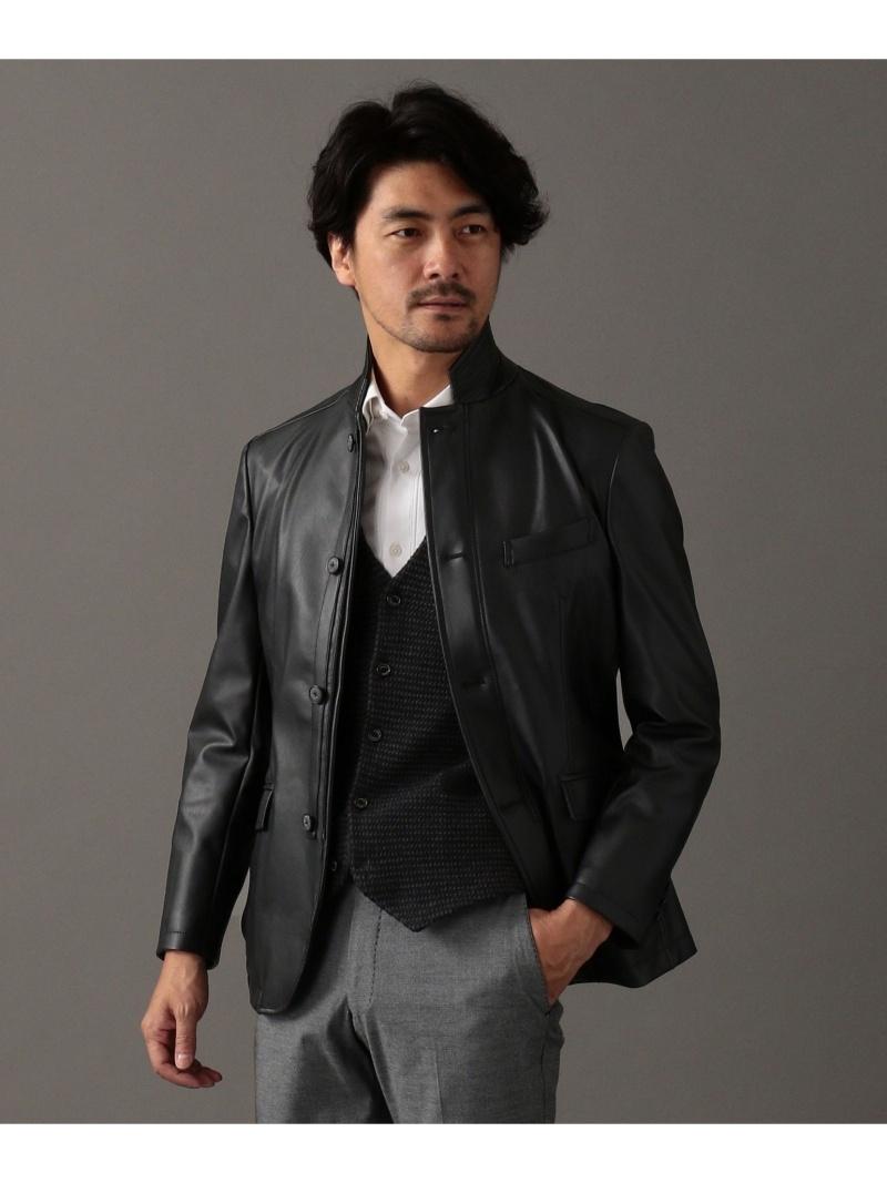 JOSEPH ABBOUD リアリッシュレザージャケット ブルゾン ジョセフアブード コート/ジャケット【送料無料】