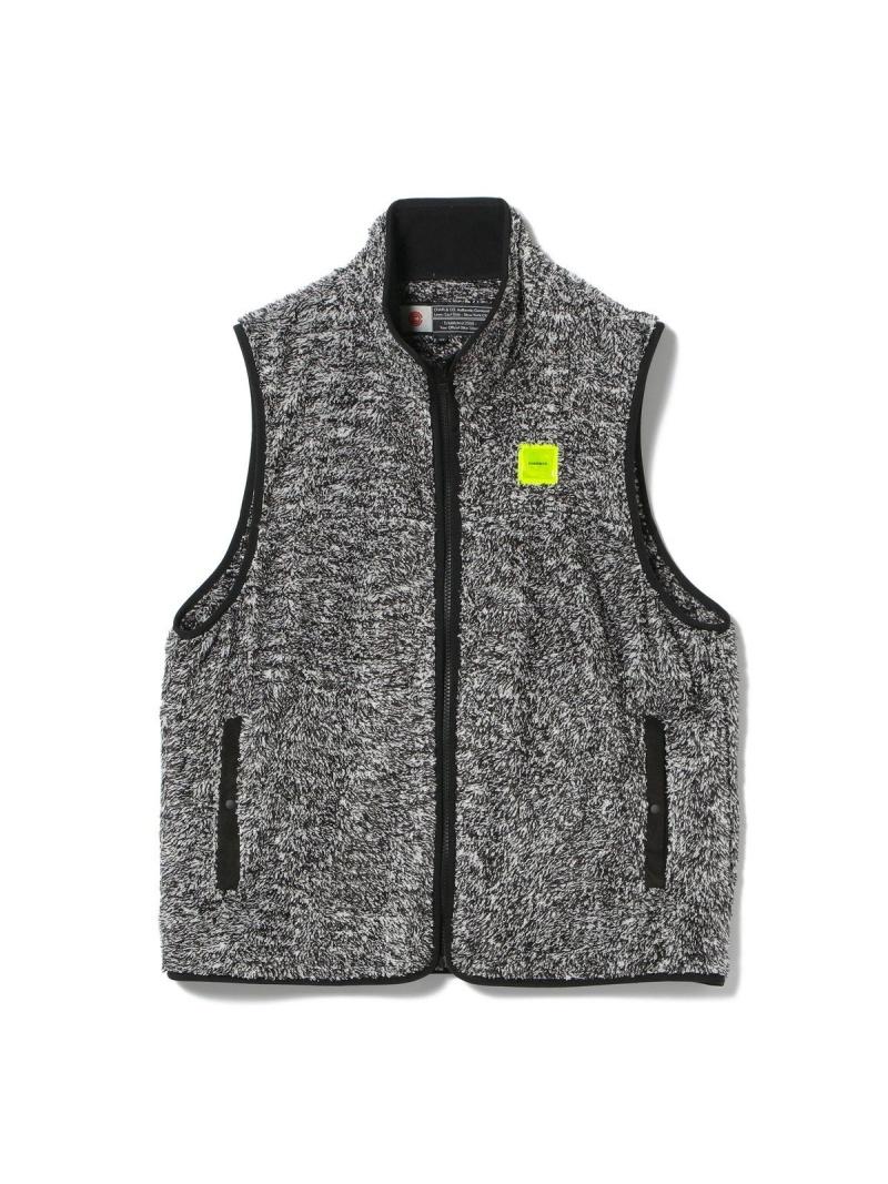 【SALE/30%OFF】BEAMS T CHARI&CO × BEAMS T / 別注 Fleece Vest ビームスT コート/ジャケット【RBA_S】【RBA_E】【送料無料】