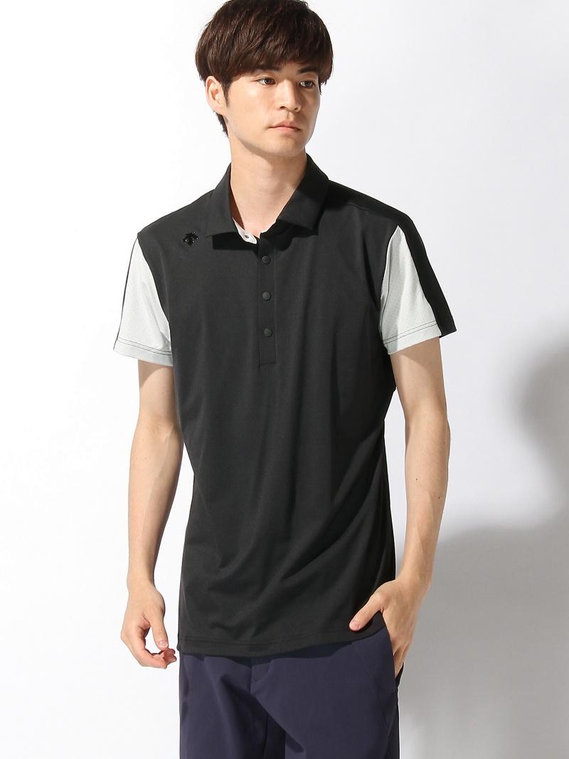 Descente golf パンチングメッシュショートスリーブシャツ デサントゴルフ カットソー【送料無料】